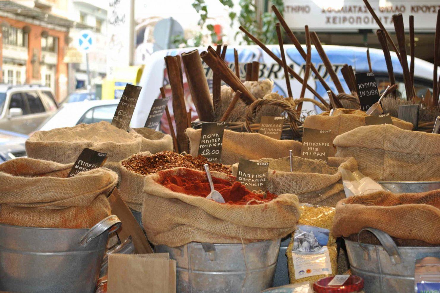009 Greek Market Cooking Lessons